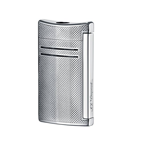 st-dupont-maxijet-lighter-torch-flame-chrome-grid