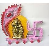 Dev Radha Krishna Photo Frame Showpiece - 23 Cm