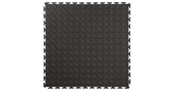 Fußboden Fliesen Aus Kunststoff ~ Technikplaza klickfliesen noppen stück in schwarz pvc