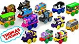Paquete de 6 minis de Thomas y sus amigos - Relleno de relleno brillante Los juguetes de Tank Engine