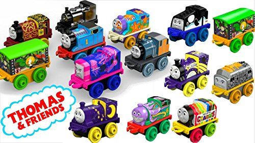 Thomas and Friends Minis Pack of 6 - Brilliant Stocking Filler Thomas The Tank Engine Toys