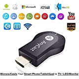 Goldtech WiFi HDMI Dongle & Wireless Display for led lcdTV Compatible with All Smartphone