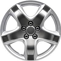Autostyle KT-998-S/SPBK Set Maine/Sparkling Negro - Tapacubos (