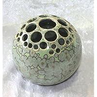 Kugelvase Steckvase Keramik Hand