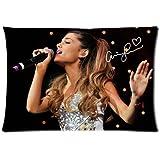 CustomSinger Ariana Grande Pillowcase(Fundas para almohada)Standard Size Zippered Pillow case(Fundas para almohada)20x30 Two Sides Number-5
