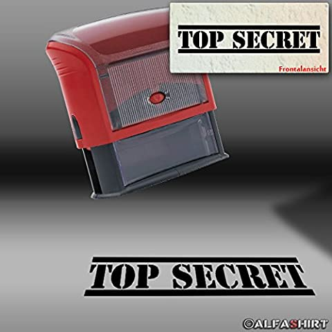 Top Secret - Stempel US Army CIA FBI Akten Dokumente