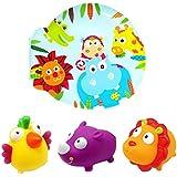 escabbo 37039–KNORRTOYS–Libro de Baño–Jungla, varios juguetes