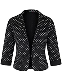 AO Casual Blazer 3/4 Arm gepunktet