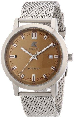 Carucci Watches CA2195ST-BR - Orologio da polso, uomo