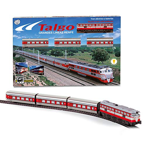 PEQUETREN - Tren Talgo articulado con desvíos (Servicios e Industrias del Juguete...