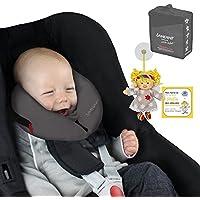 SANDINI SleepFix® Baby – Cuscino per bambini/ Cuscino del collo con funzione protettiva – Accessorio da macchina/ bicicletta/ viaggio – Designed in Germany/ Made in EU