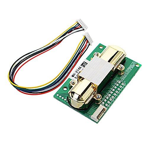 Ils - NDIR CO2-Sensor MH-Z14A PWM NDIR Infrarot-Kohlendioxid-Sensor-Modul Serial Port 0-5000PPM -