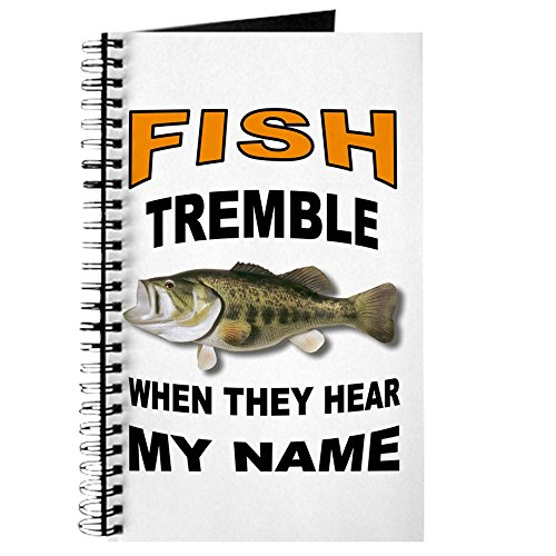 CafePress – Fish Tremble – Spiralbindung Journal Notebook, persönliches Tagebuch, Dot Grid