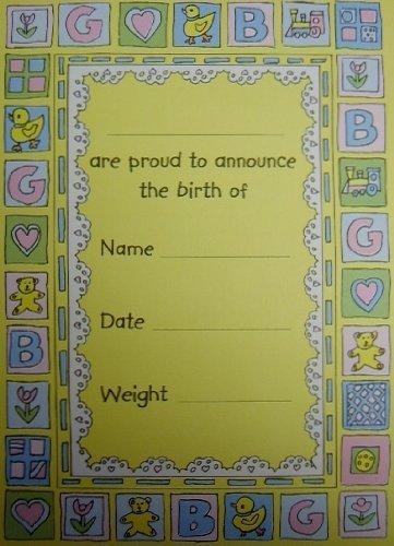 paquet-de-10-naissance-annonces-10-remerciez-yous-avec-enveloppes