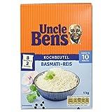 Uncle Ben's Basmati-Reis im Kochbeutel, 8 Beutel, 1 kg