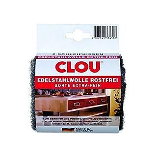 Edelstahlwolle Schleifkissen (1 Pack = 2 Stk.)