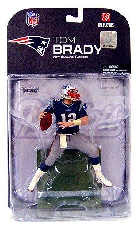 TOM Brady # 12New England Patriots Blue Jersey Dirty Uniform McFarlane NFL Wave 22008by unknown