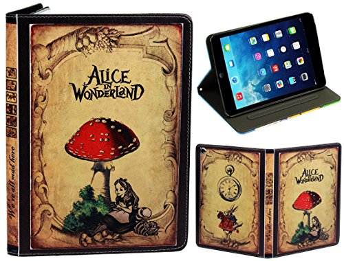 Für Apple iPad Mini 1 2 3 Alice im Wunderland Classic antik Vintage - Classic Bible Book Cover