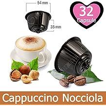 32 Capsulas Cappuccino Sabor Avellana Compatibles Nescafè Dolce Gusto - Café Kickkick