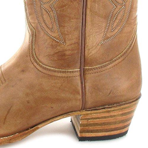 Sendra Boots Stiefel 7082 Braun Westernstiefel 023 Lavado