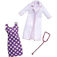 Barbie FKT12 Fashions Berufsoutfit: Ärztin, Puppe