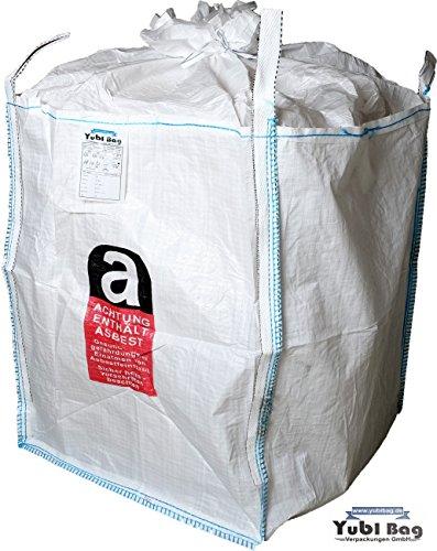 5 Stück Asbest Big Bag BRUCHLAST 5000 KG