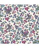 Tassotti--Carta Tassotti-A Motivi piccole fiori tono di viola-85gr/m2