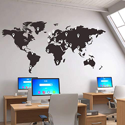 jkhhi Leinwanddrucke Travel The World Wandaufkleber Büro Klassenzimmer Wanddekoration Kulturwand Abnehmbar Wohnzimmer Wohnung Deko