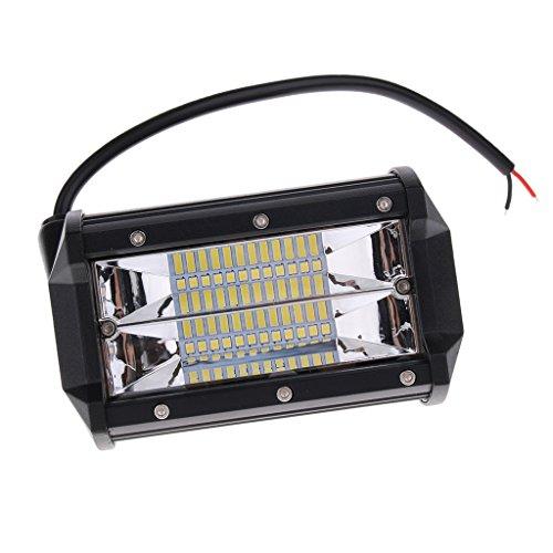Dolity LED Licht Bar Suchscheinwerfer mit 24-eingebautet LED Universal für Auto-Boots-Fahrzeug-Yacht