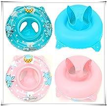 Shina inflable del niño del bebé de la manija de seguridad del asiento del flotador Anillo