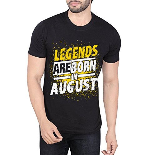 Legends Are Born In August T-shirt (Large)
