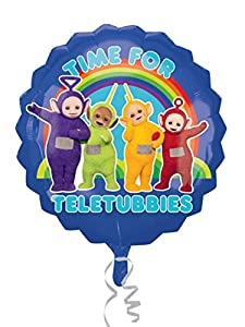 "Amscan International - 3449401 ""Teletubbies grupo Super Shape holográfica"" globo de plástico (XL)"