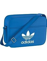 adidas AIRL Classic - Bolsa de deporte, color azul / blanco