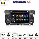 ANDROID 7.1 4G LTE GPS DVD USB SD WI-FI Bluetooth autoradio 2 DIN navigatore Skoda Octavia / Skoda Yeti 2009, 2010, 2011, 2012