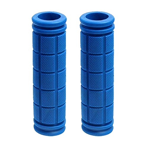 NoyoKere Fahrrad Lenker Griffe Soft Rubber Radfahren Mountain Roller Fixed Gear Bar End Teile MTB Royal blau -