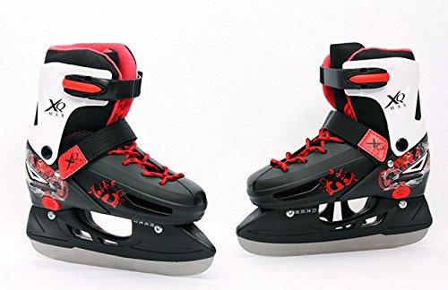 Verstellbare Kinder Schlittschuhe Eishockey 29-32 33-36 37-40 NEU
