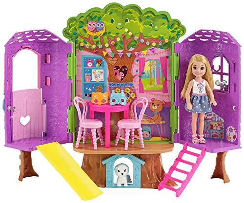 Barbie Chelsea, casa de muñecas Casita del Árbol