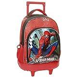 Spiderman City Zaino, 43 cm, 31.65 liters, Multicolore (Multicolor)