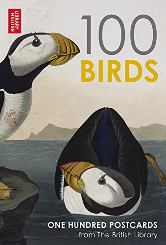 British Library 100 Birds from around the World: 100 Postcards in a Box (Postcards Boxset) by British Library (2-Apr-2015) Cards (Library Box Card)