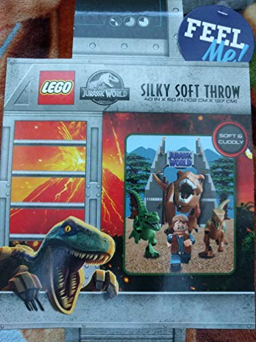 LEGO - Manta Suave Sedosa niños Jurassic World