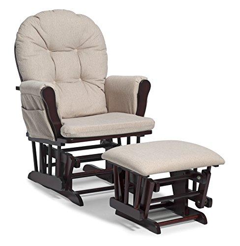 Storch Craft Hoop Glider und Polsterhocker Set (Möbel Ottoman Chair)