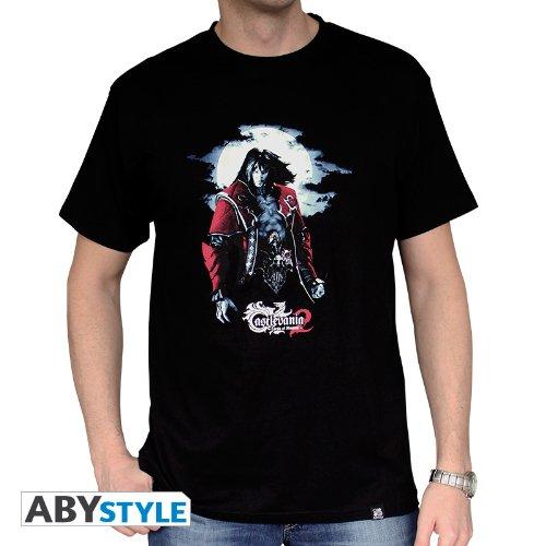 ABYstyle abystyleabytex260-l Abysse Castlevania Dracula kurzen Ärmeln Mann Basic T-Shirt (groß)