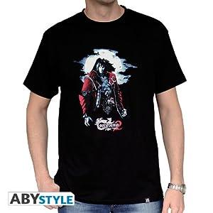 ABYstyle abystyleabytex260-l Abysse Castlevania Drácula de manga corta Hombre basic camiseta (grande)