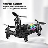 DROCON-Drone-Mini-Pocket-GD60-Helicoptre-tlcommand-camra-HD-anti-vibration-720P-Mode-sans-Tte-3D-FLIPS-ET-ROLLS-Convient-pour-les-dbutants