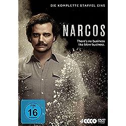 Narcos - Die komplette Staffel Eins [Alemania] [DVD]