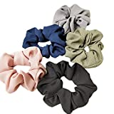 Aiserkly 5pcs Hair Gym Scrunchies Large Women