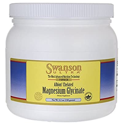 Swanson Ultra Albion Chelated Magnesium Glycinate (150g (5.3oz) Powder) by Swanson Health Products
