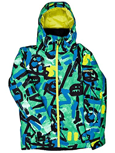 Quiksilver Mission - Snow Jacket - Chaqueta Para Nieve - Chicos - Verde
