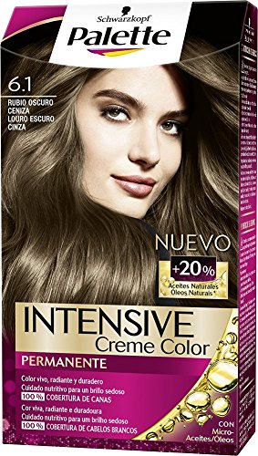 Palette Intense Cream Coloration 1924706 - Coloración permanente, tono 6.1