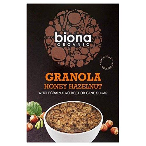 Biona Organic Honey & Hazel Crunchy Granola 375g -